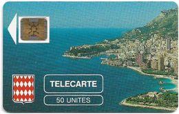 Monaco - MF1 - Rocher De Monaco - Cn. 106771 - 08.1989, SC4 GB, 50Units, 10.200ex, Used - Mónaco