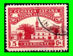 CORREOS ESPAÑA - COCINAS ECONOMICAS - AYAMONTE - HUELVA – VALOR 5 CTS. - 1931-Aujourd'hui: II. République - ....Juan Carlos I