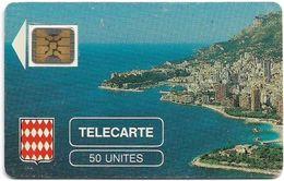 Monaco - MF1 - Rocher De Monaco - Cn. 106772 - 08.1989, SC4 GB, 50Units, 10.200ex, Used - Mónaco