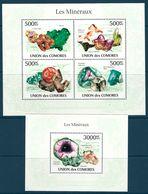 Comoro Islands - 2010 Minerals MNH** - Lot. A390 - Minerali