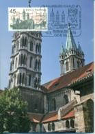 CM-Carte Maximum Card # Allemagne-BRD-Germany 2016 #Tourism-Architecture # Église,Kirche,dom Of Naumburg (Saale) - Maximumkarten (MC)