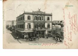 Alexandrie - Grand Hotel Abbal    (léger Pli Bas Gauche) - Alexandrie