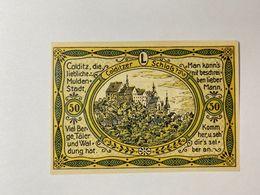 Allemagne Notgeld Colditz 50 Pfennig - [ 3] 1918-1933 : République De Weimar