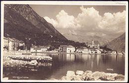 MONTE NEGRO - CRNA GORA - PERASTO  PERAST  - 1927 - Montenegro