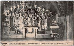 JERUSALEM -  CPA - SAINT SEPULCRE - LE TROU DE LA CROIX - Israele
