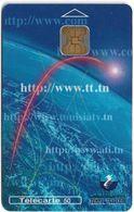 Tunisia - Tunisie Telecom - Internet, 50Units, Chip Oberthur, 01.2000, 50.000ex, Used - Tunisie