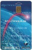 Tunisia - Tunisie Telecom - Internet, 50Units, Chip Orga, 01.2001, 100.000ex, Used - Tunisie