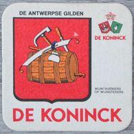 Sous-bock DE KONINCK De Antwerpse Gilden Wijntaveniers Of Wijnstekers Bierdeckel Bierviltje Coaster (N) - Portavasos