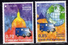 CITTÀ DEL VATICANO VATIKAN VATICAN 2013 EUROPA CEPT UNITA SERIE COMPLETA COMPLETE SET MNH - Vatican
