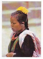 Népal A Magar Woman Femme Carte écrite De Katmandou Le 25 Janvier 1982 VOIR TIMBRE - Nepal