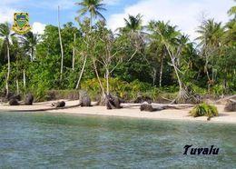 Tuvalu Palm Trees New Postcard - Tuvalu