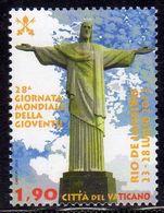 CITTÀ DEL VATICANO VATIKAN VATICAN 2013 GIORNATA MONDIALE DELLA GIOVENTÙ YOUTH MONDIAL DAY RIO DE JANEIRO € 1,90 MNH - Vatican