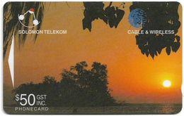 Solomon - Solomon Tel. - GPT - SOL-23 - 05SIE - Peanaha Fa Island, 50$, Used - Isole Salomon