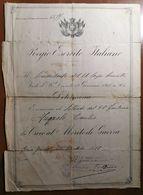 1918 CROCE AL MERITO - Documenti Storici