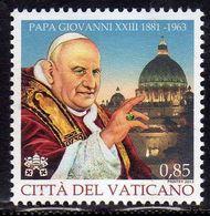 CITTÀ DEL VATICANO VATIKAN VATICAN 2013 ANNIVERSARIO MORTE PAPA GIOVANNI XIII POPE JHON DEATH ANNIVERSARY € 0,85 MNH - Vatican