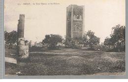 CPA Rabat (Maroc) La Tour Hassan Et Les Ruines - Rabat