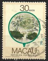 Macau Macao – 1987 Fans 30 Avos Used Stamp - Macao