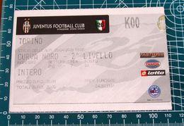 Biglietto  Ticket  JUVENTUS Vs TORINO Curva Nord Stadio Delle Alpi  05/04/2003 - Tickets D'entrée