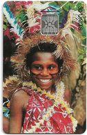 Vanuatu - Young Girl, SC5, Cn. 00555, 30U, 09.93, 3.000ex, Used - Vanuatu