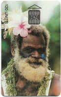Vanuatu - Old Man, SC5, Cn. 00553, 120U, 09.93, 3.000ex, Used - Vanuatu