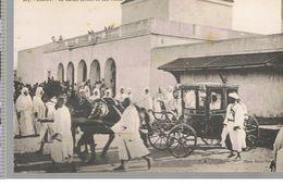 CPA Rabat (Maroc) Le Sultan Sortant De Son Palais - Rabat
