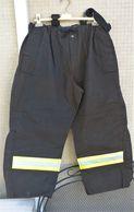 Pantaloni Da Intervento VV.FF. Vigili Del Fuoco Con Bretelle Tg. XXL Usati Ottimi Marcati - Pompiers