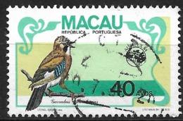 Macao Macau – 1984 Birds 40 Avos Used Stamp - Macao
