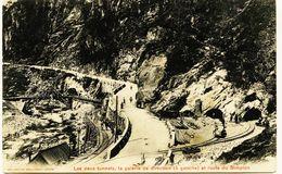 2347 Suisse Perçage De Tunnel Du Simplon Qui Relie  BRIGUE(Valais) Au Village D'ISELLE (Piémont-Italie) - VS Valais