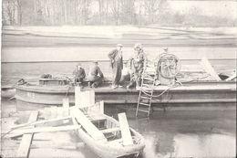 60 CREIL ANCIENNE PHOTO Scaphandrier PÉNICHE 1929 - Format 9X6 CM - Bateaux