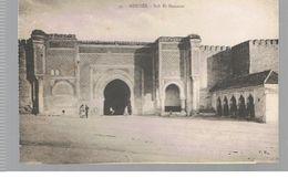 CPA Meknès (Maroc) Bab El Mansour - Meknès