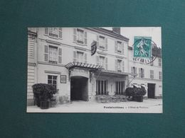 CPA FONTAINEBLEAU HOTEL DE TOULOUSE 1913 EXC ETAT - Fontainebleau