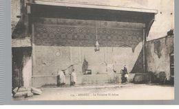 CPA Meknès (Maroc) La Fontaine El-Adine - Meknès