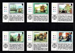 Jersey 1992 Adventurers - William Mesny Corner Set Of 6 Mint No Gum - Jersey