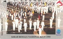 Indonesien Phonecard Tamura Parade 1995 - Indonésie