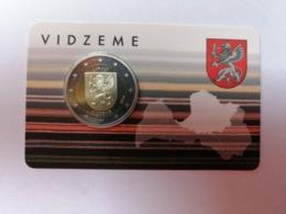 2 Euros Lettonie 2016 - Vidzeme - Coincard - Lettonie