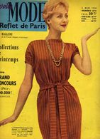 Votre Mode Reflet De Paris N°575 Magazine Femme élégante Collection De Printemps Grand Concours L.Mariottini Plan Maison - Fashion