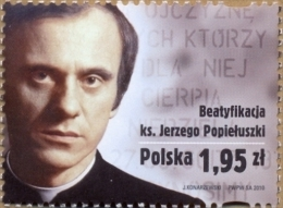 POLAND 2010 Priest Popieluszko Beatification MNH - 1944-.... Republic