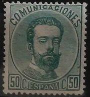 España: Año. 1872 - ( Rey Amadeo I ) - 1872-73 Regno: Amedeo I
