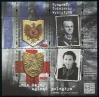 2018 POLAND Gorgets Of The Cursed Soldiers MNH** - 1944-.... Republic