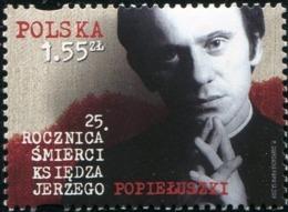 Poland 2009 Mi 4456 Father Jerzy Popieluszko, Polish Roman Catholic Priest MNH** - Ongebruikt