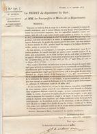 2è Restauration, Gard, Sept. 1815 : La Suspension Des Conseils Municipaux Est Non Avenue.... - Documenti Storici