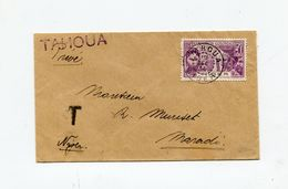 !!! NIGER, LETTRE DE TAHOUA POUR MARADI DU 10/12/1934, TAXEE - Niger (1921-1944)
