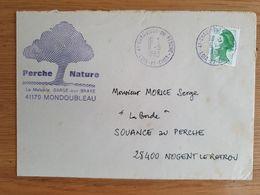 CHAUVIGNY DU PERCHE - 6 Mai 1983 - Loir Et Cher - Marcophilie (Lettres)