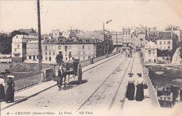 CPA (78) CHATOU Le Pont (R.V)  D 614 - Chatou