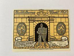 Allemagne Notgeld Herne 50 Pfennig - [ 3] 1918-1933 : République De Weimar