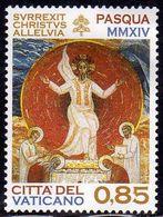 CITTÀ DEL VATICANO VATIKAN VATICAN 2014 PASQUA EASTER € 0,85 MNH - Vatican