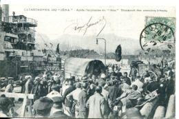 """N°1947 R -cpa Catastrophe Du """"Iena"""" -transport Des Premiers Blessés- - Guerre"""