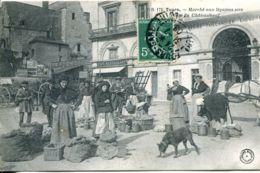 N°1948 R -cpa Tours -marché Aux Légumes Secs - - Märkte