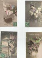 Lot De 6 Cartes Bonne Année - Cartes Postales