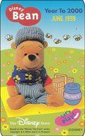 Japan NTT Free Card Disney Winnie The Pooh 110-207076 - Disney